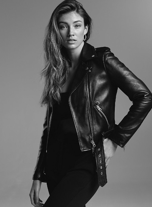 Lennon Leather Biker